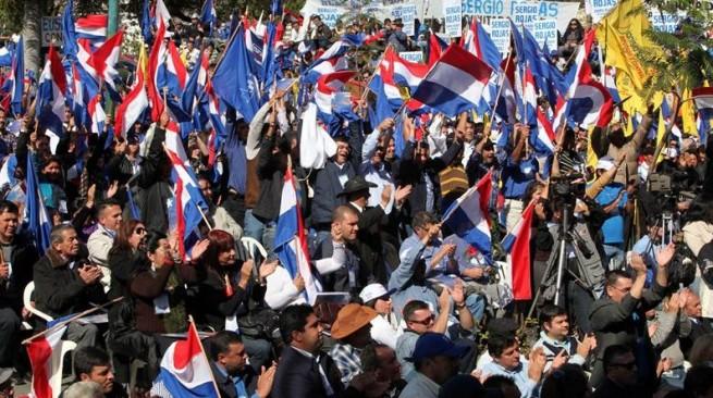 Crisis política en Paraguay
