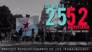 Acto 25 de Mayo Grand Bourg