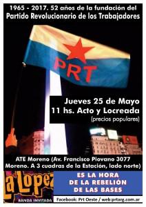 Acto 25 de Mayo - Moreno