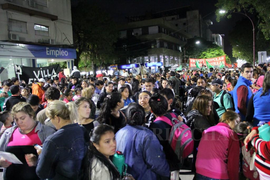 Chaco: aumenta la decisión de ganar la calle y hacer escuchar nuestras demandas