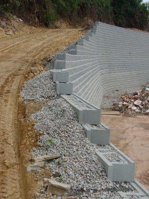 Muro de contenci n partido revolucionario de los - Como hacer muros de piedra ...