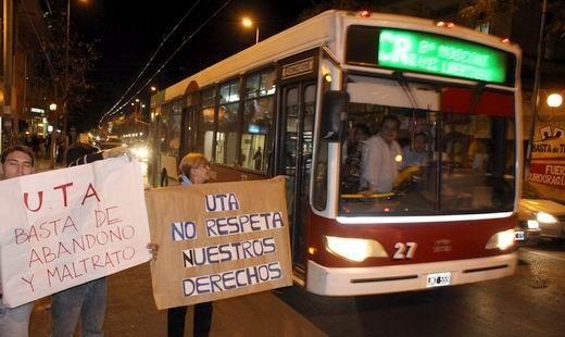 Paro de trasporte en Córdoba: las bases se imponen ante la gerencia sindical