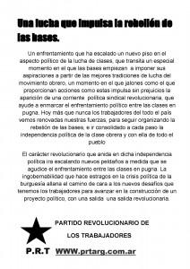Conflicto de choferes en Córdoba: una lucha que impulsa la rebelión de las bases