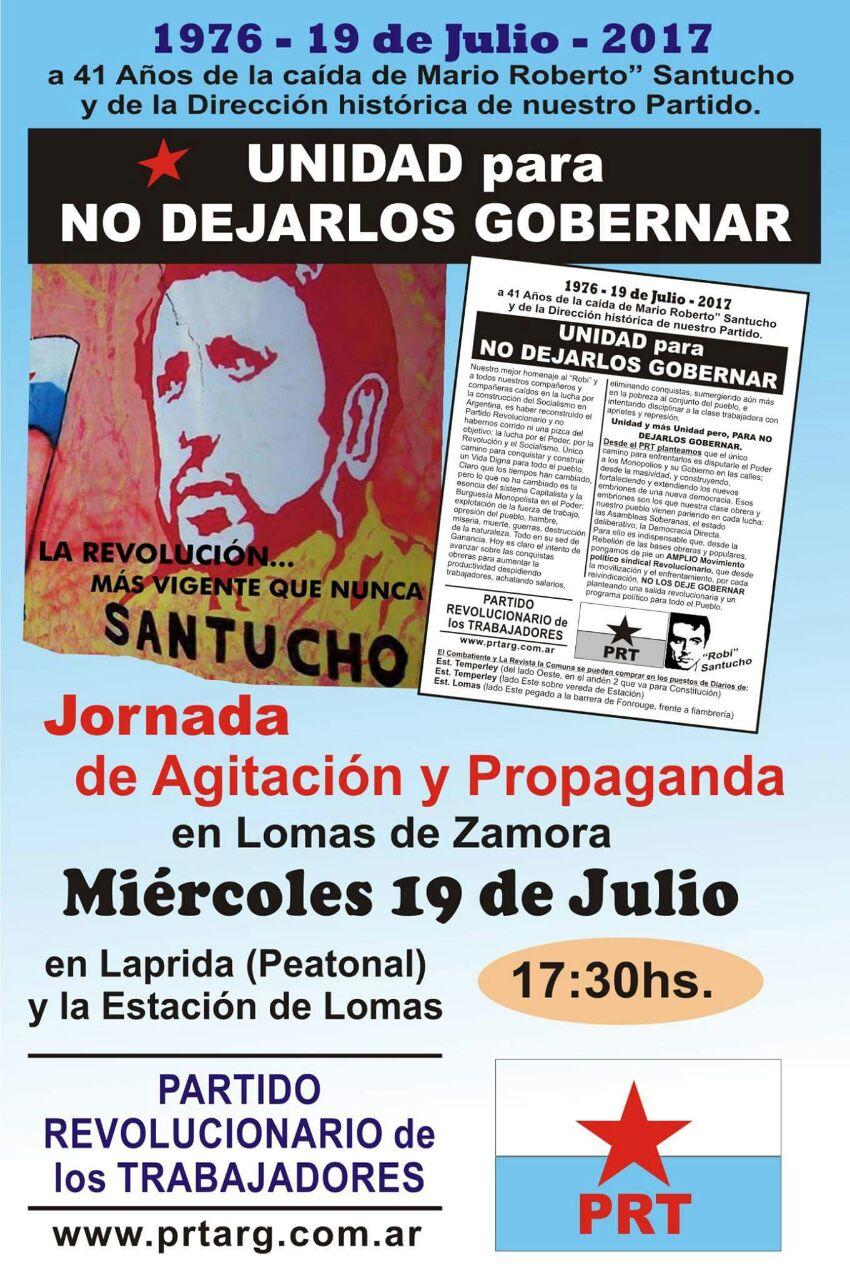 19 de Julio en Lomas de Zamora