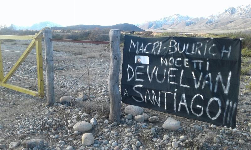 Exigimos la aparición inmediata de Santiago Maldonado
