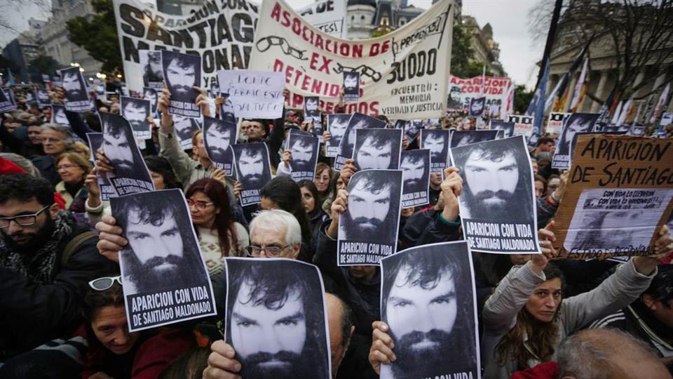 La maniobra de encubrimiento del Estado sobre la desaparición de Santiago Maldonado
