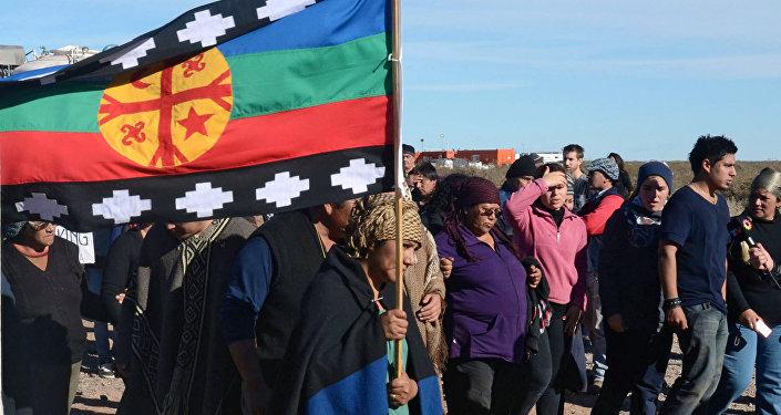 Solidaridad con las comunidades mapuches