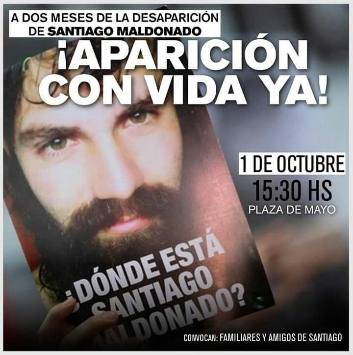 Domingo 1° de Octubre, 15 hs. El PRT concentra en Av. de Mayo y Salta