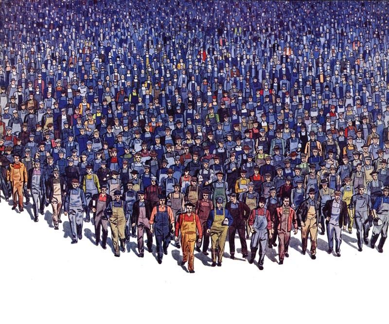 La unidad de la clase obrera está caminando