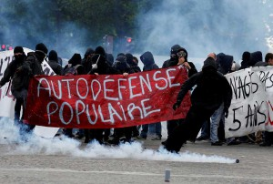 Francia manifestantes