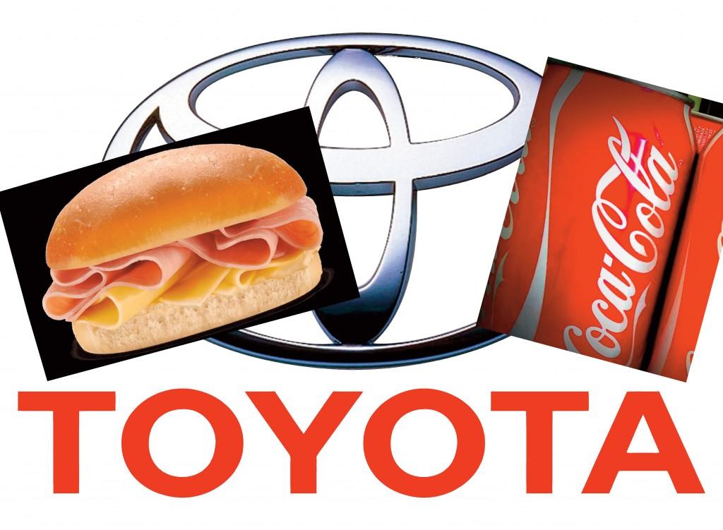 Toyota: pasantías por un pebete y una Coca