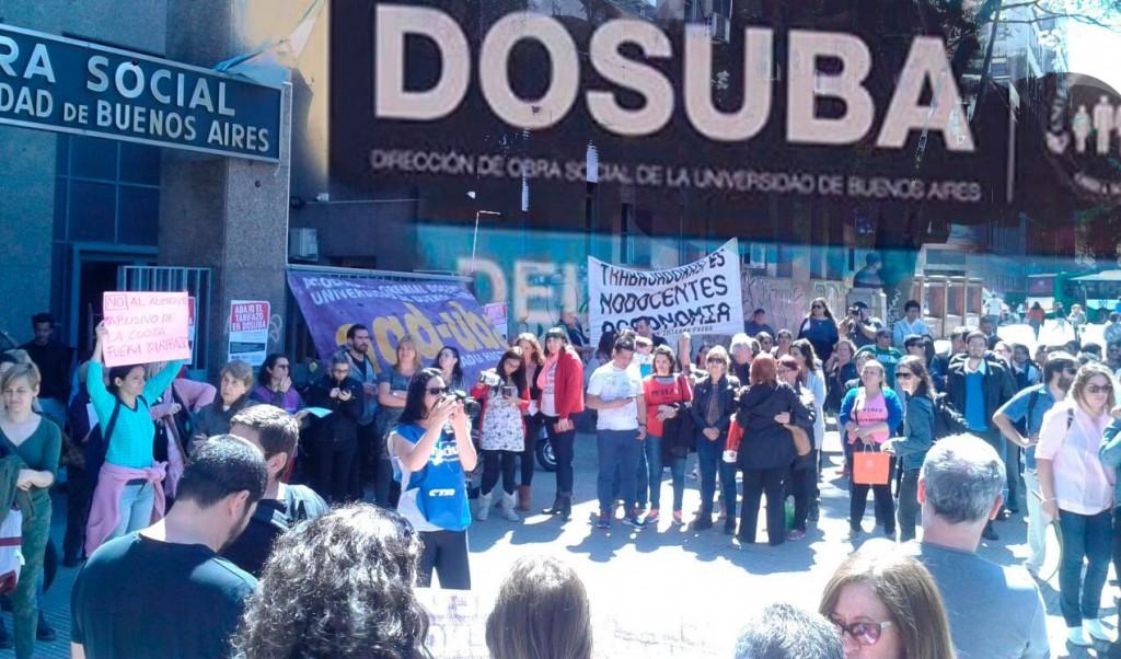 DOSUBA: la salud es un derecho y la organización independiente de los trabajadores también