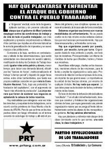 Volante Nacional - Reforma Laboral - Noviembre 2017