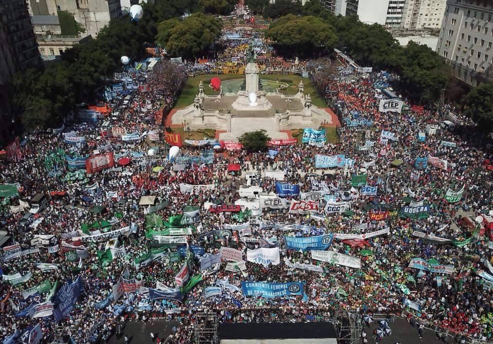 La lucha de clases sostenida por el pueblo argentino
