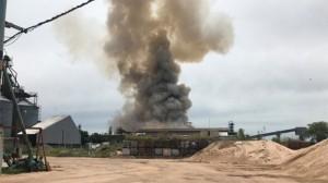 Explosión en Cofco Internacional - San Lorenzo, Sta. Fe