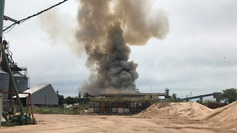 """Otro trabajador muerto por el """"accidente"""" en la planta Cofco de Puerto San Martín, Santa Fe"""