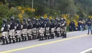 Gendarmería en Villa Mascardi
