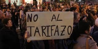 Impulsar las asambleas contra los tarifazos; en cada barrio o localidad, organizar la protesta