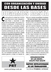 DIGAMOS BASTA!
