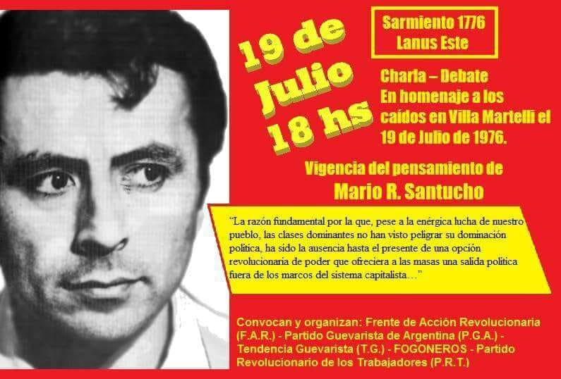 Acto el 19 de Julio en Lanús