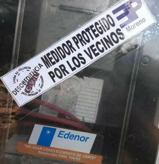 Rebeldía organizada contra el tarifazo