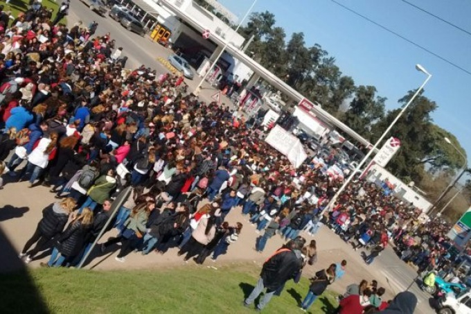 Escuela de Moreno: no fue un accidente, es un crimen de este sistema inhumano