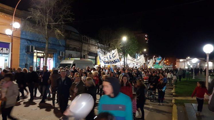 Chacabuco en las calles dice BASTA MACRI