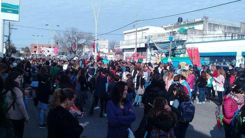 Moreno: en vez de descomprimir, la movilización crece
