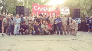 La lucha de los obreros de Canale