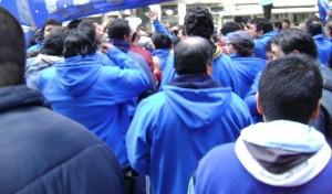 Obreros movilizados
