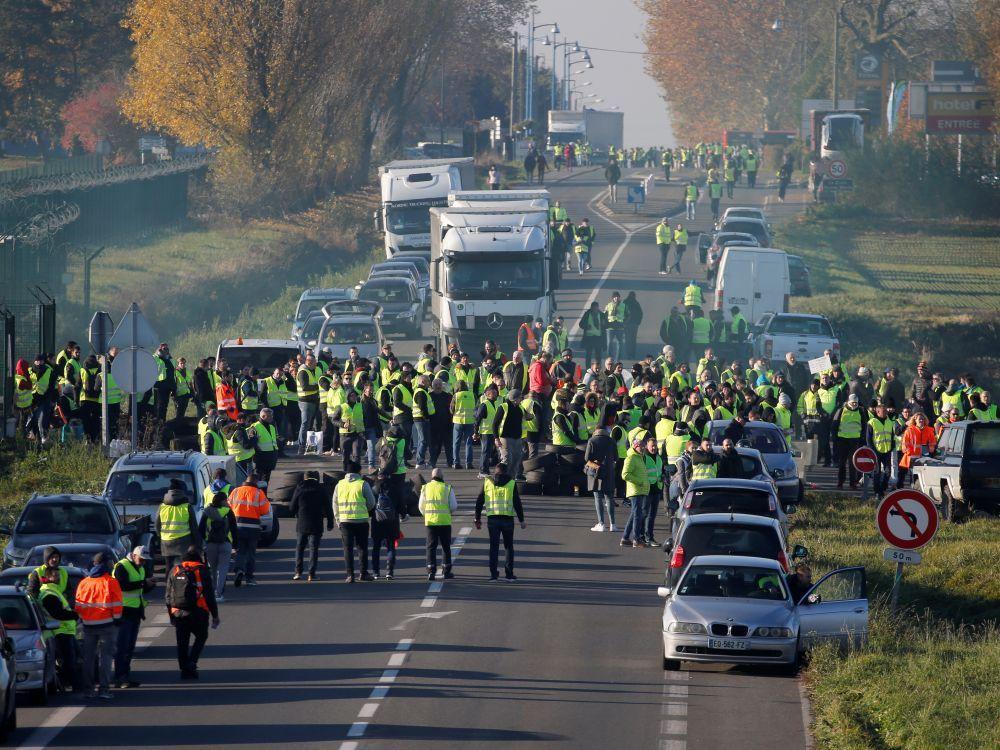 La lucha del pueblo francés, auténtica contracumbre al G20