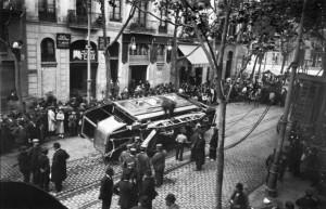 La Semana Trágica 1919 - Av. Corrientes