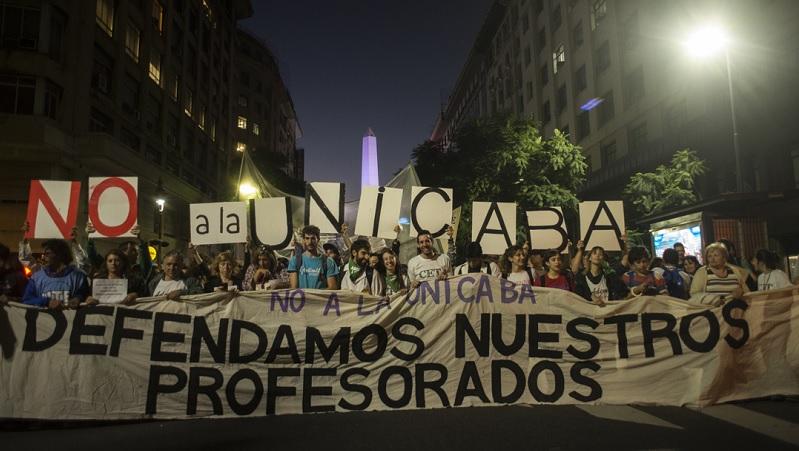 Unidad y organización en la lucha docente en CABA