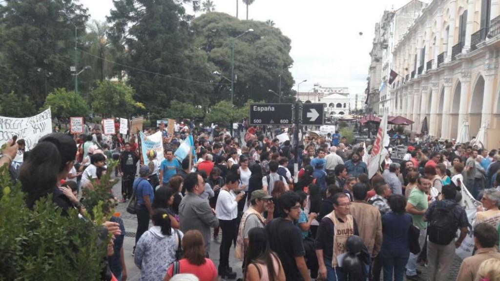 La lucha de los salteños tiene un carácter nacional que marca el devenir de las próximas luchas