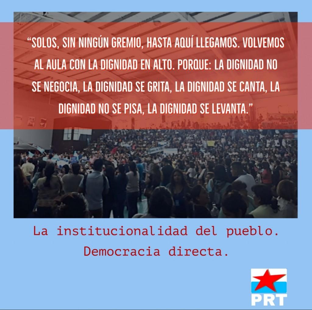 La lucha anti burocrática hoy, es imponer la democracia directa