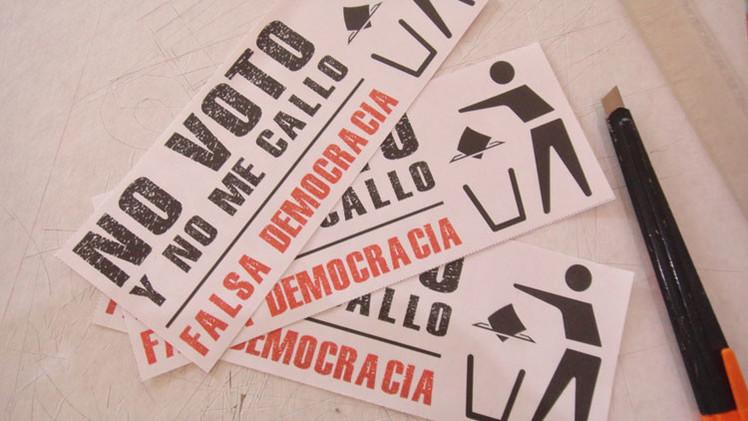"""La zanahoria de octubre y los """"manteros"""" de la democracia burguesa"""