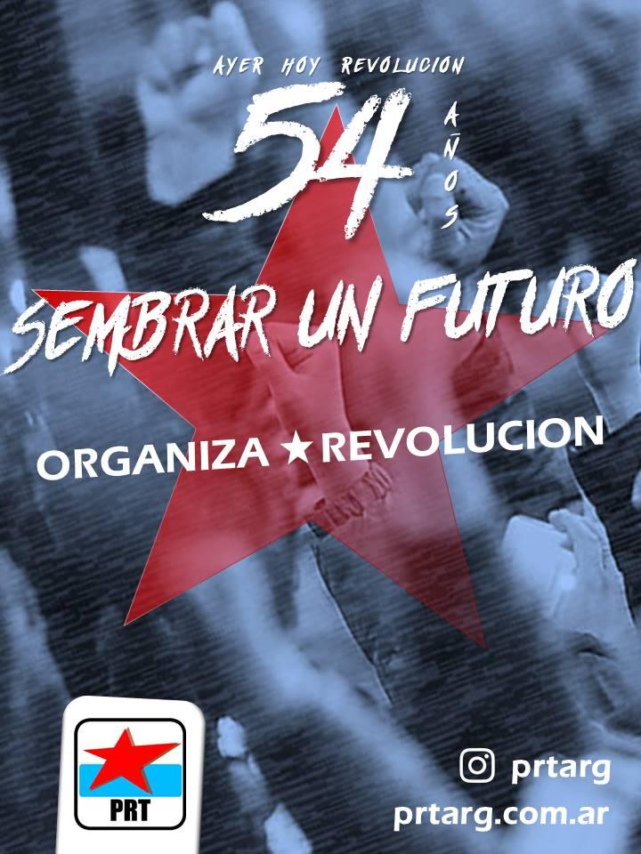 El 54ºAniversario del PRT reafirma nuestros principios