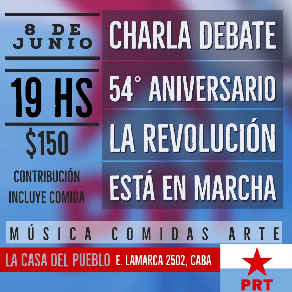 Actos del PRT en nuestro 54º Aniversario / 25 de Mayo
