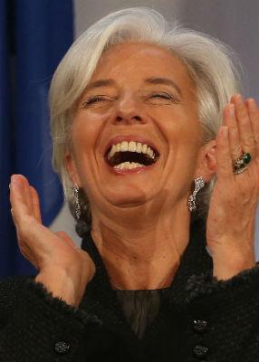"""De golpe resulta ahora, que el FMI sería """"bueno""""…"""