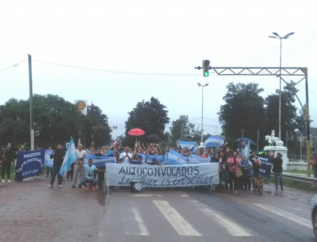 Cien días de autoconvocatoria docente en Chaco: balance y perspectivas
