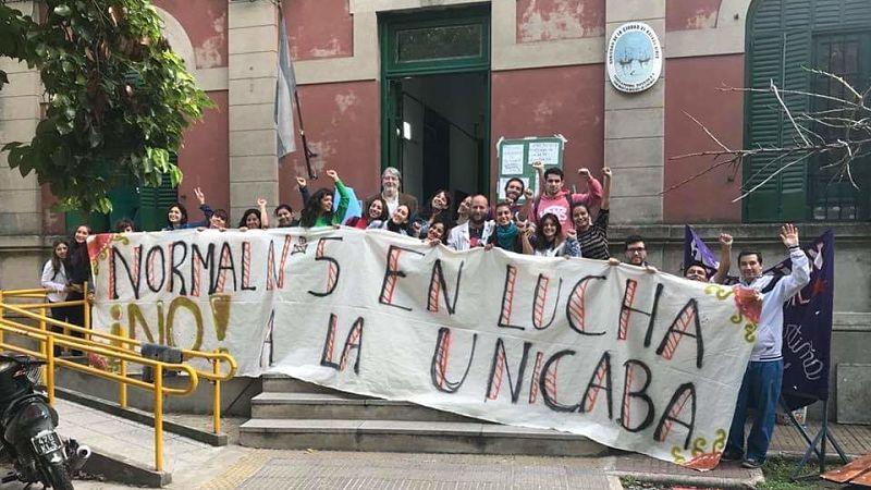 La lucha en los Profesorados – CABA. Comunicado de Prensa Normal Nº5