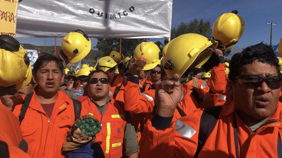 Gran triunfo en la lucha de  los mineros de El Aguilar, Jujuy