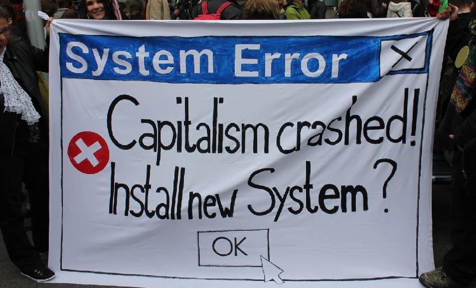 Pudrición del sistema por arriba; necesidad de socialismo y revolución por abajo