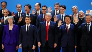 G20 en lo único que coinciden es en el mantenimiento del sistema