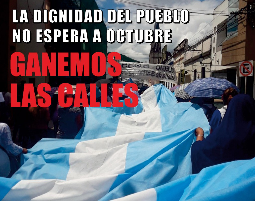 Comunicado del PRT: Movilizar desde cada puesto de trabajo ¡Ganemos las calles!
