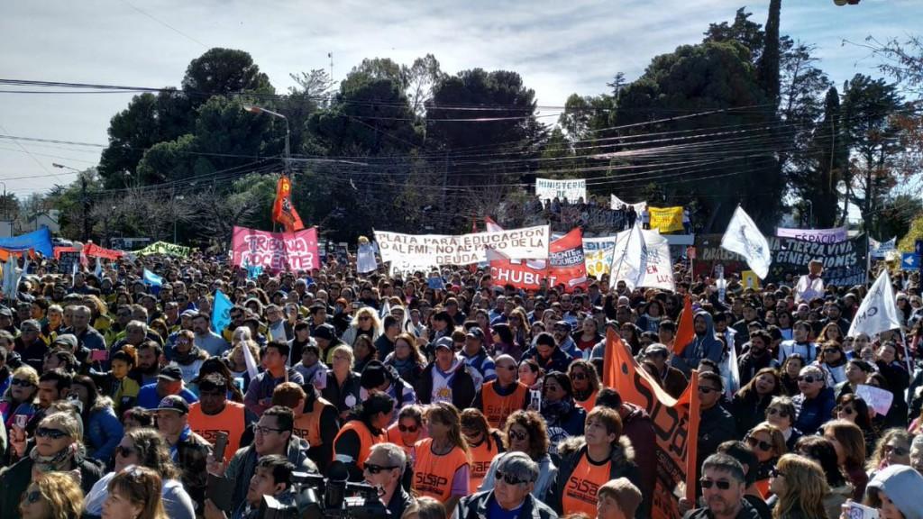 """¿""""Petroleros"""" atacan docentes en Chubut?"""