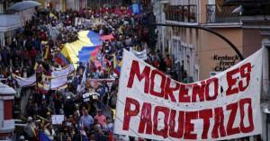 Ecuador, un pueblo que dice basta