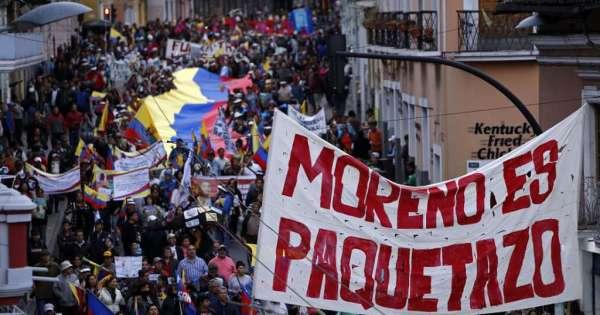 Ecuador: un pueblo que dice basta