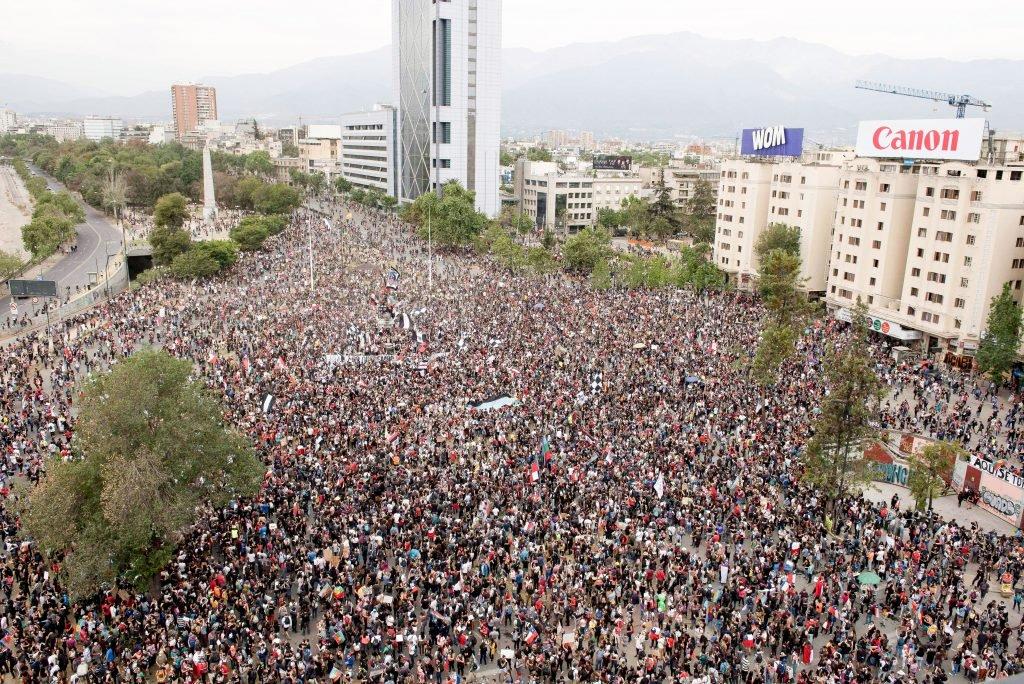 La clase obrera y el pueblo chileno son un grito de esperanza que recorre toda América y el mundo