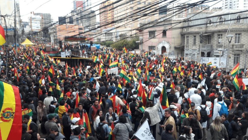 Sobre la situación en Bolivia